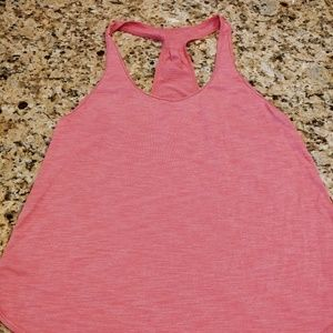 Lululemon 105 F Singlet - Heathered Pink Size 12